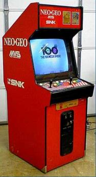 borne arcade snk