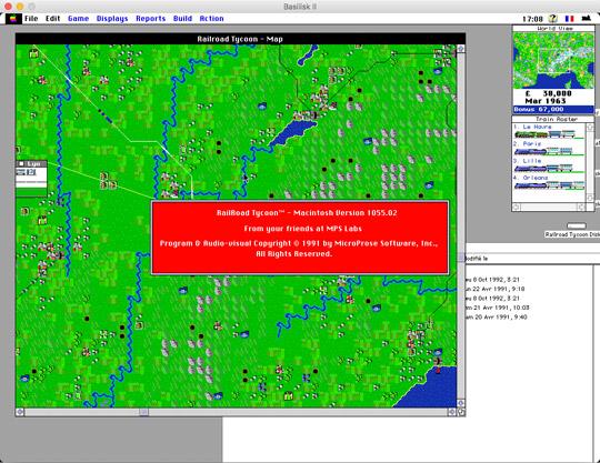 mac-emu net - Sid Meier's Railroad Tycoon